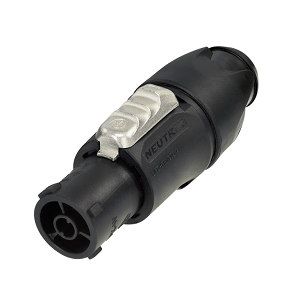 powerCON TOP connector for outdoor use