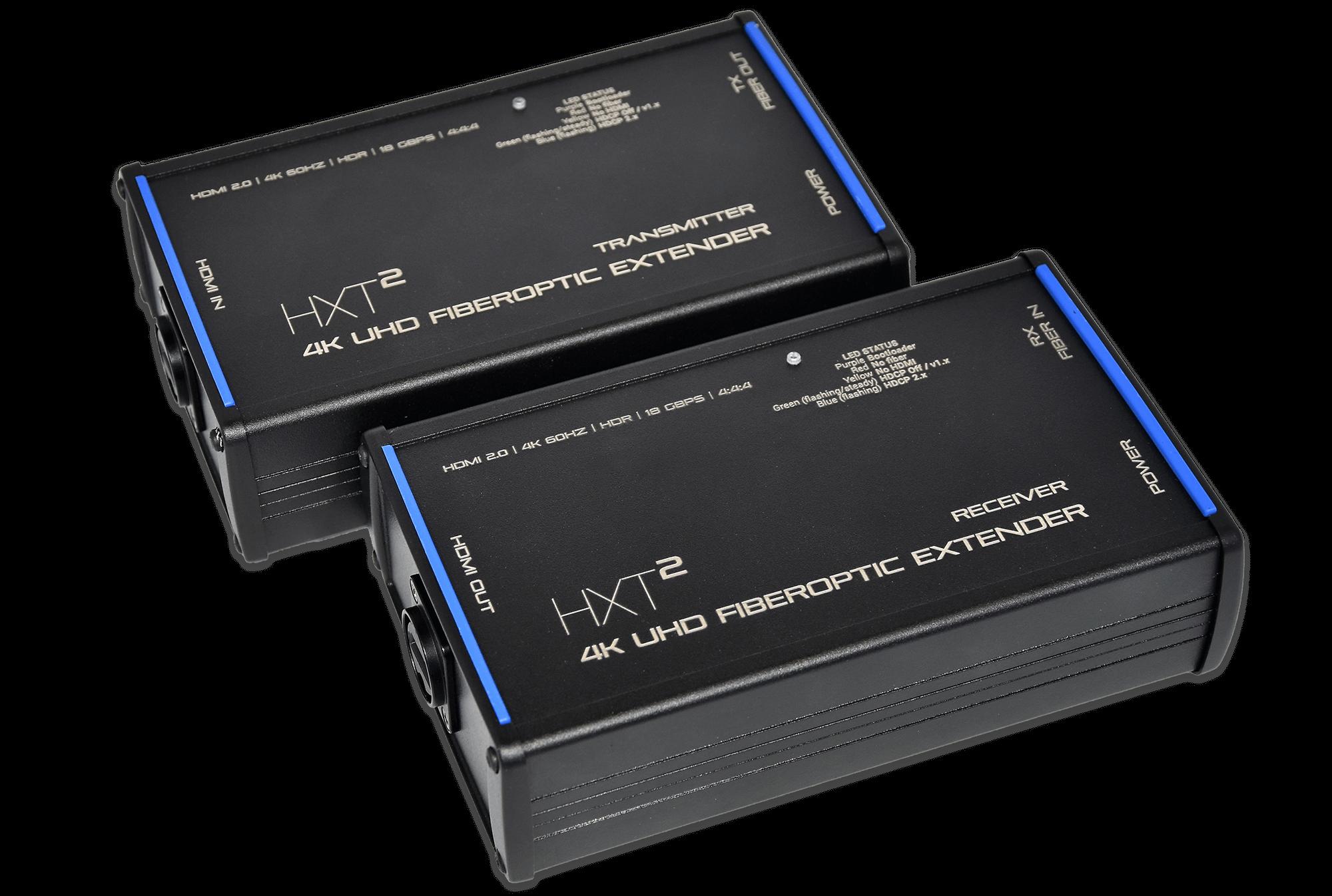HXT²: 4k uhd hdmi fiber optic extender