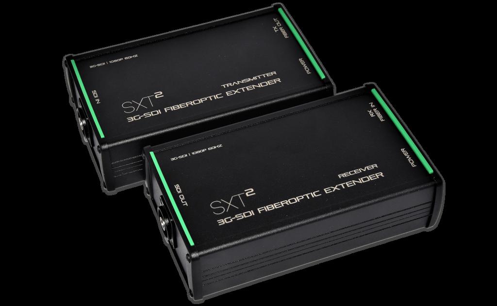 SXT²: 4k uhd 3G-SDI fiber optic extender