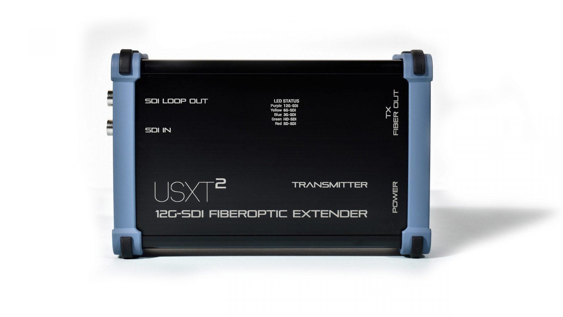 USXT² - 12G-SDI Fiber Optic Extender