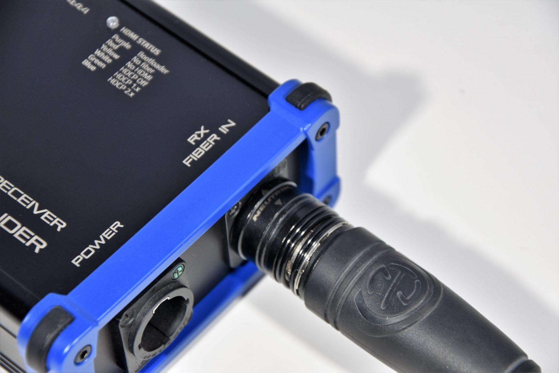 HXT² rugged hdmi fiber extenders rental