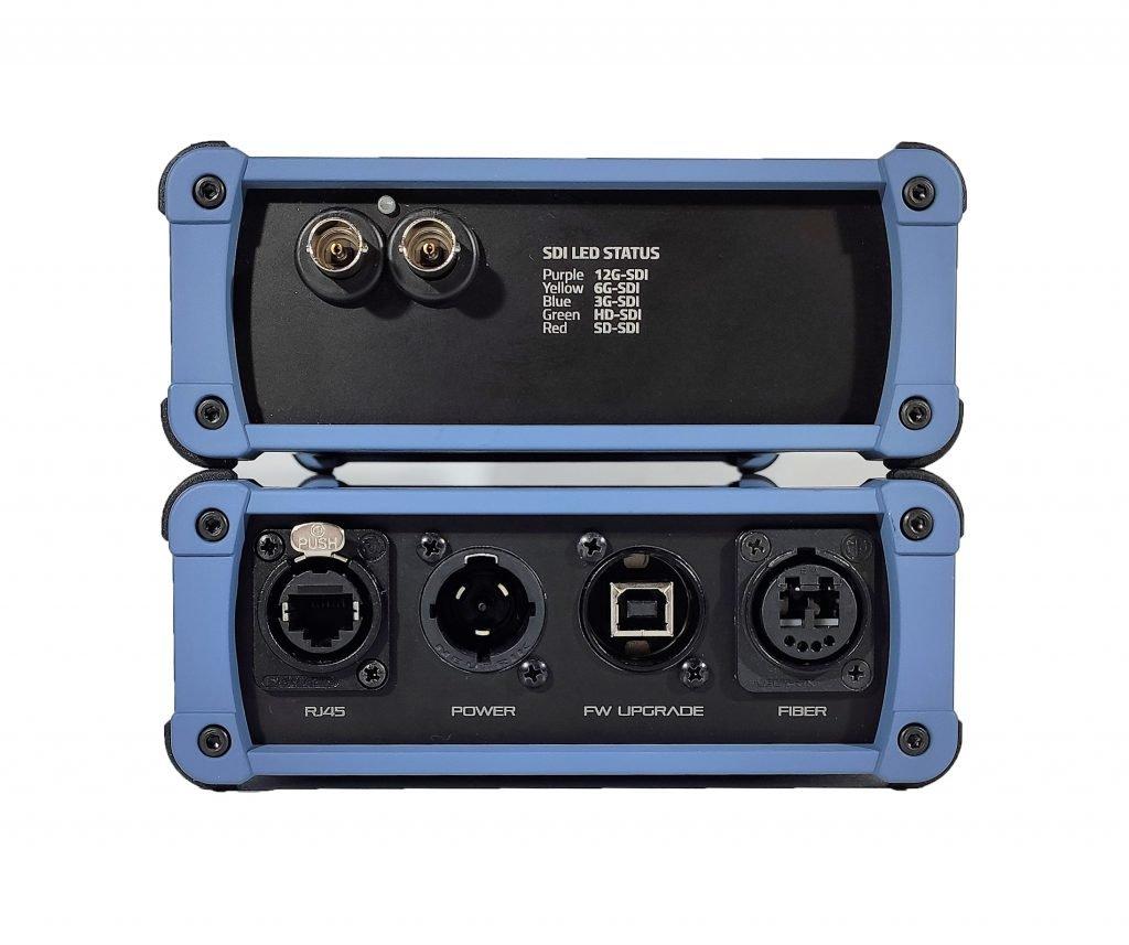 USGXT² - rugged sdi ethernet fiber extenders for professional