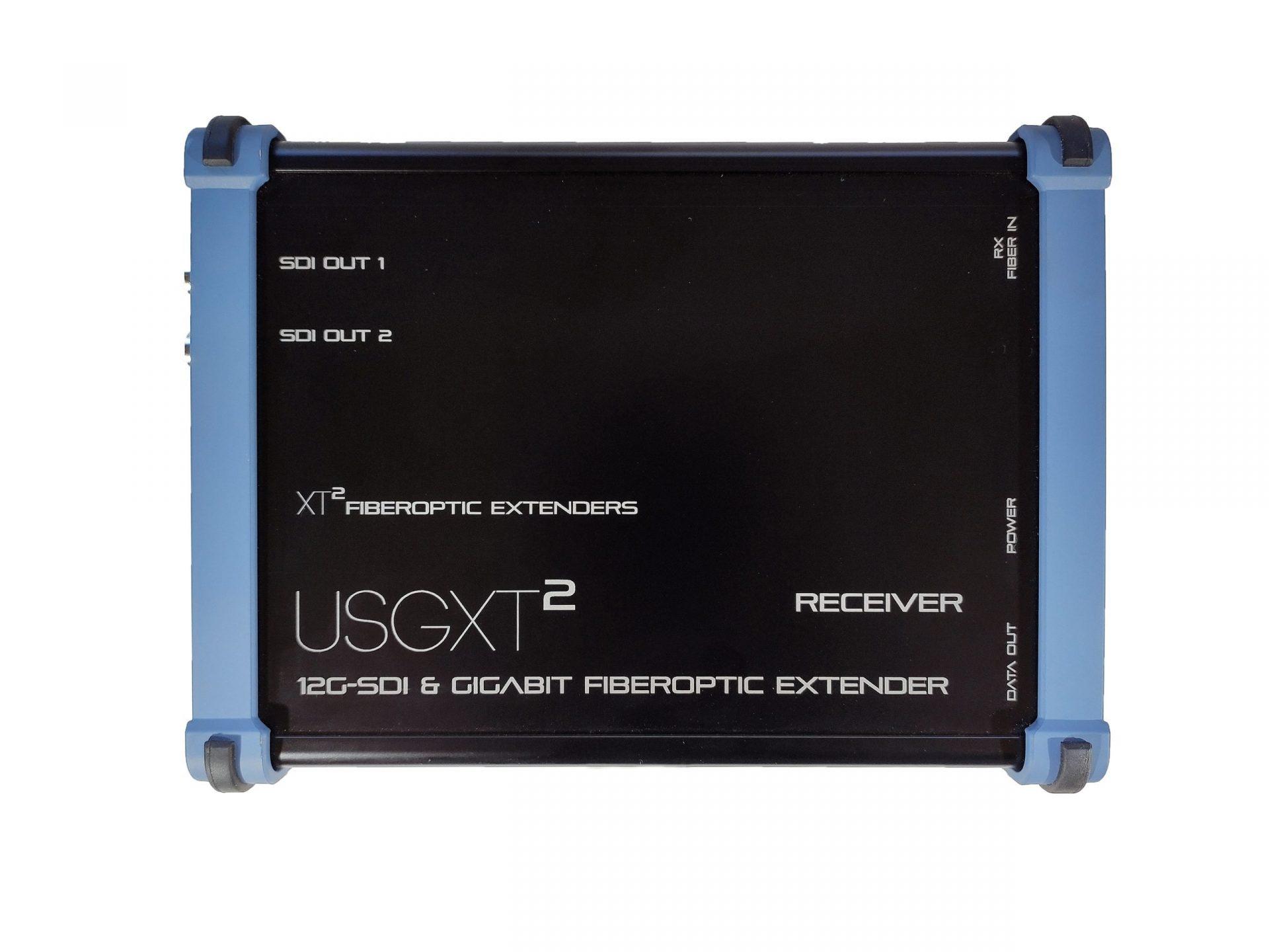 USGXT² - rugged sdi ethernet fiber extenders heavy duty