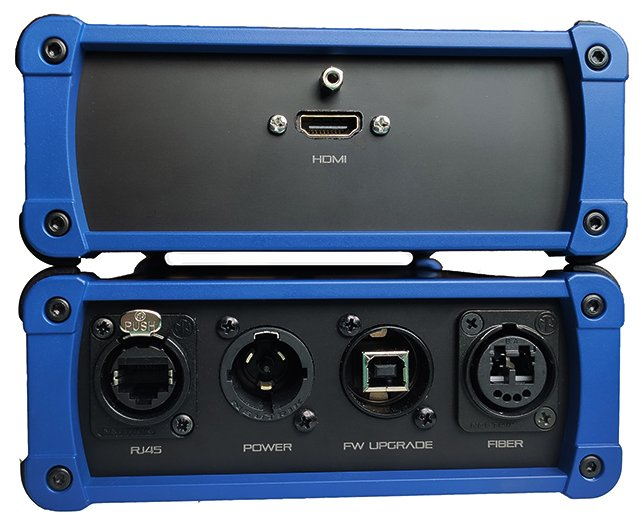 HGXT² - M3 Locking HDMI Chassis - HDMI Ethernet fiber extender